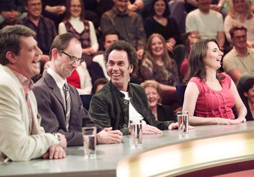 Was gibt es Neues? / ORF / mit: Dieter Chmelar, Helfried, Hugo Egon Balder und Nadja Maleh