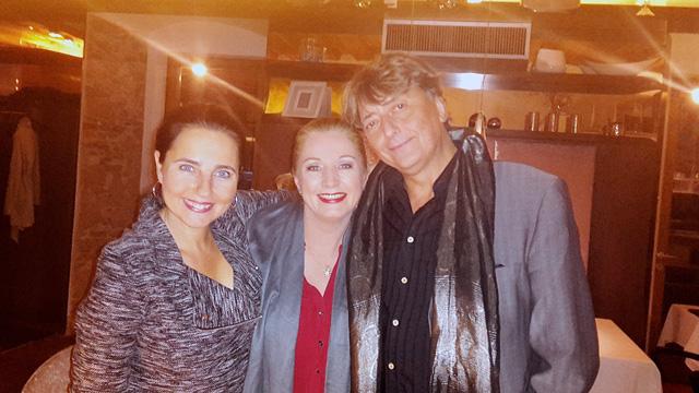 Nadja mit Gabriela Benesch und Günter Mokesch