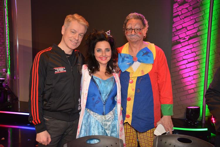 Nadja bei Grünwalds Freitagscomedy / mit Günter Grünwald und Michael Mittermeier